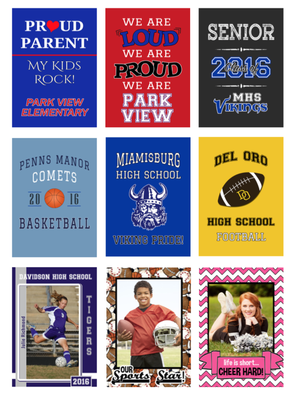 Use custom flags from flagology.com to raise money for your organization, school or team