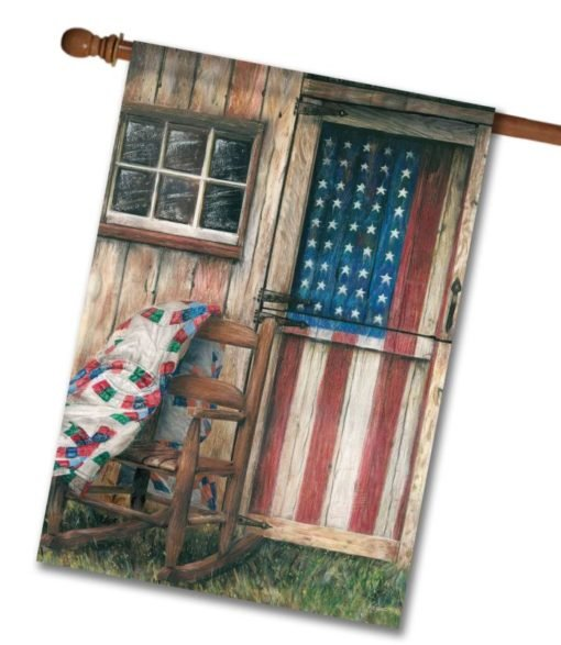 American Rocker - House Flag - 28'' x 40''