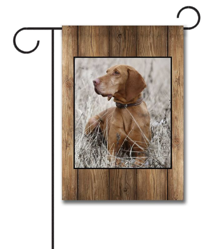 Barnwood  - Photo Garden Flag - 12.5'' x 18''