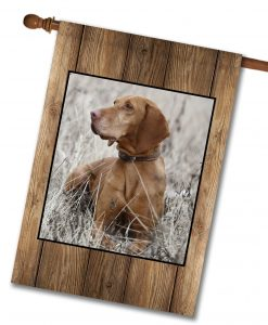 "Barnwood  - Photo House Flag 28"" x 40"""