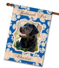 "Beloved Pet  - Photo House Flag 28""x40"""