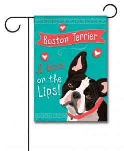 Boston Terrier- Garden Flag - 12.5'' x 18''