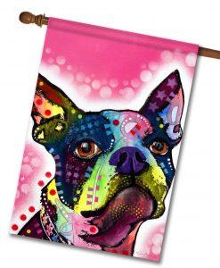 Boston Terrier   House Flag   28u0027u0027 ...