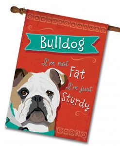 Bulldog- House Flag - 28'' x 40''