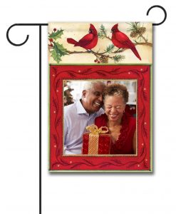 Cardinals - Photo Garden Flag - 12.5'' x 18''