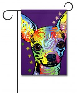 Chihuahua Superstar - Garden Flag - 12.5'' x 18''