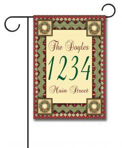 Christmas Magic  - Address Garden Flag - 12.5'' x 18''
