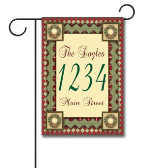Christmas Magic  - Address Garden Flag - 12.5'' x 18''