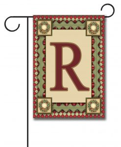 Christmas Magic  - Monogram Garden Flag - 12.5'' x 18''