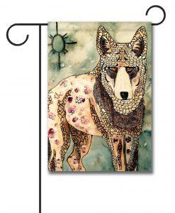 Coyote Magic - Garden Flag - 12.5'' x 18''