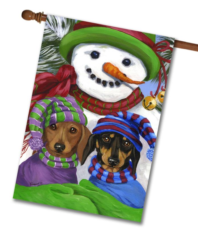 Decorative Christmas Flags