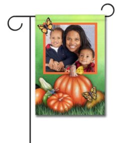 Fall Butterflies - Photo Garden Flag - 12.5'' x 18''