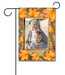Fall Leaves - Photo Garden Flag - 12.5'' x 18''