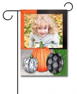 Fancy Fall- Photo Garden Flag - 12.5'' x 18''