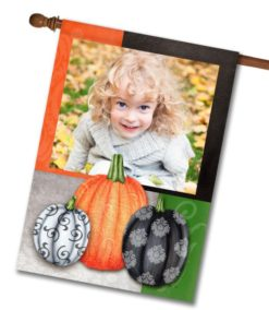 "Fancy Fall - Photo House Flag 28""x40"""