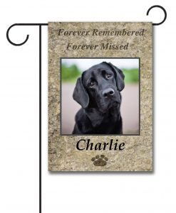 Forever Remembered - Photo Garden Flag - 12.5'' x 18''