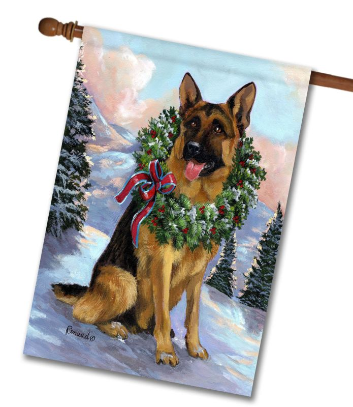 german shepherd honor