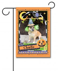 Happy Halloween- Photo Garden Flag - 12.5'' x 18''