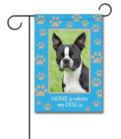 Home is Where My Dog is- Photo Garden Flag - 12.5'' x 18''
