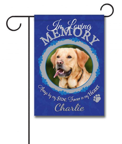 In Loving Memory Pet Photo Garden Flag 12 5 X 18