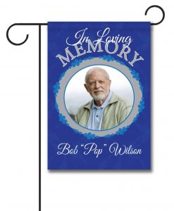 In Loving Memory - Photo Garden Flag - 12.5'' x 18''