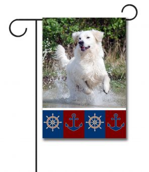 Welcome Aboard - Photo Garden Flag - 12.5'' x 18''