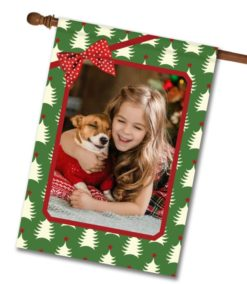 "O Christmas Tree - Photo House Flag 28""x40"""
