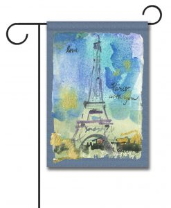 Paris With You - Garden Flag - 12.5'' x 18''