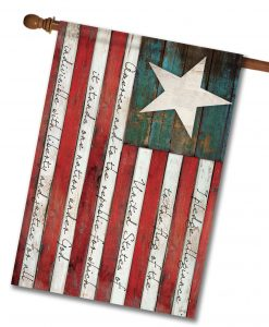 Pledge of Allegiance - House Flag - 28'' x 40''