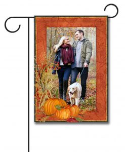 Pumpkin  - Photo Garden Flag - 12.5'' x 18''