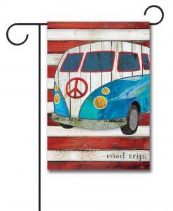 Road Trip - Garden Flag - 12.5'' x 18''