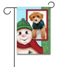 Snowie - Photo Garden Flag - 12.5'' x 18''