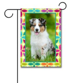 Spring Leaves  - Photo Garden Flag - 12.5'' x 18''