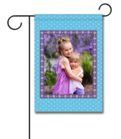 Springtime Blue - Photo Garden Flag - 12.5'' x 18''