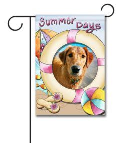Summer Days  - Photo Garden Flag - 12.5'' x 18''
