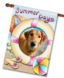 Summer Days  - Photo House Flag - 28'' x 40''