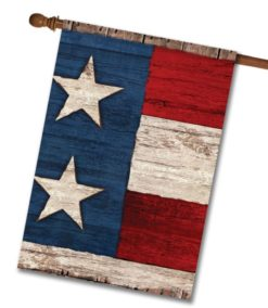Two Star House Flag 28'' x 40''