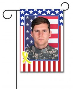 USA Yellow Ribbon- Photo Garden Flag - 12.5'' x 18''