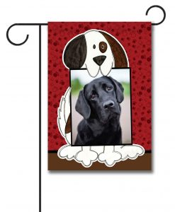 Doggie Photo- Photo Garden Flag - 12.5'' x 18''