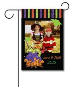 Witches Brew- Photo Garden Flag - 12.5'' x 18''