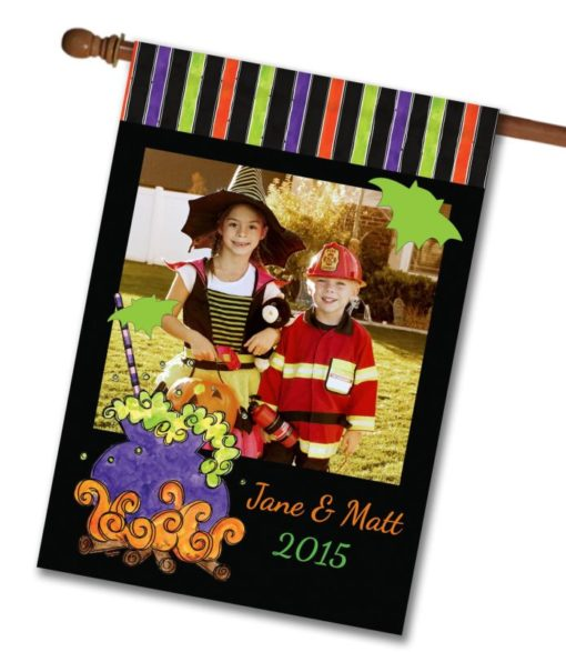 """Witches Brew  - Photo House Flag 28""""x40"""""""
