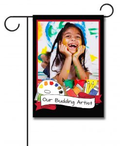 Budding Artist  - Photo Garden Flag - 12.5'' x 18''