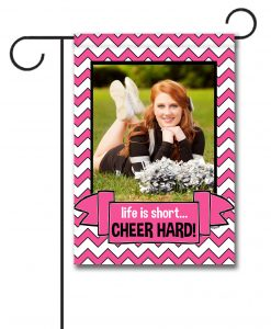 Cheer  - Photo Garden Flag - 12.5'' x 18''