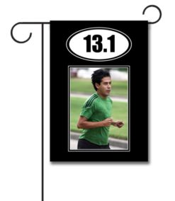 Marathon 26.2  - Photo Garden Flag - 12.5'' x 18''