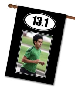 "Marathon 13.1- Photo House Flag 28""x40"""