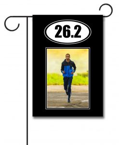 Marathon 13.1  - Photo Garden Flag - 12.5'' x 18''