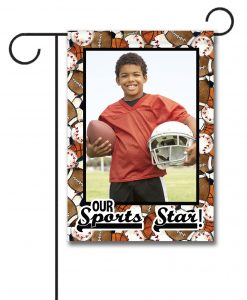 Sports Star  - Photo Garden Flag - 12.5'' x 18''