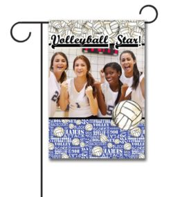 Volleyball Star  - Photo Garden Flag - 12.5'' x 18''