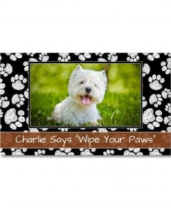 Chalk Prints Photo Doormat