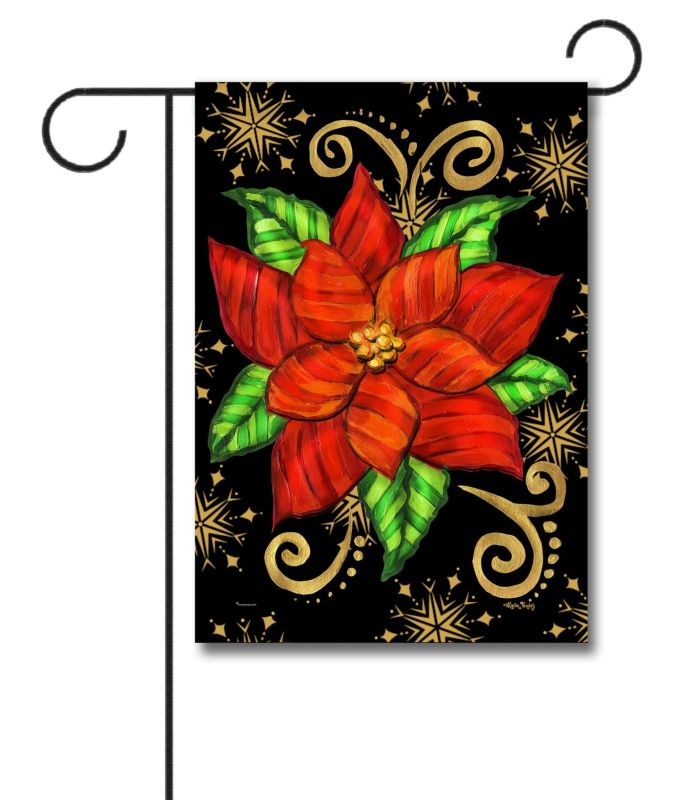 black-and-red-poinsettia-garden-flag